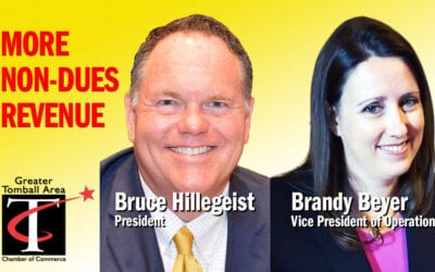 Bruce Hillegeist and Brandy Beyer, Greater Tomball Area Chamber of Commerce – 05