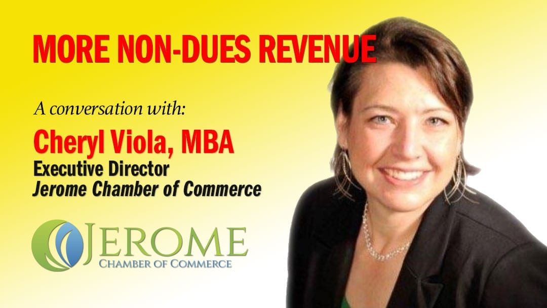 Cheryl Viola non-dues revenue ideas for chambers of commerce
