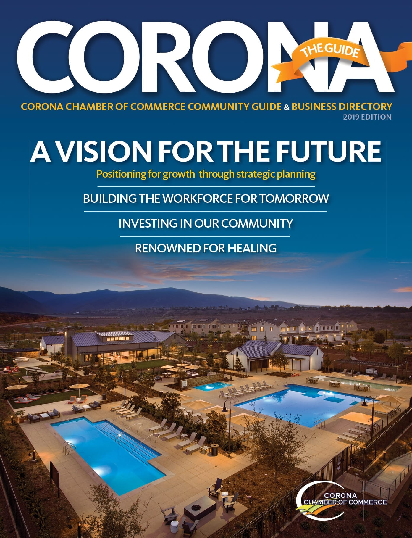 Corona Chamber of Commerce Community Guide & Directory