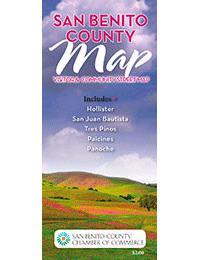 San Benito County CA Map