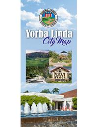 Yorba Linda CA Map
